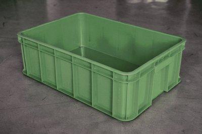 三格儲運箱615*420*200mm-塑膠籃 塑膠箱 密狀儲運箱 搬運箱 工具箱 零件箱 倉儲箱 週轉箱【富晴塑膠】