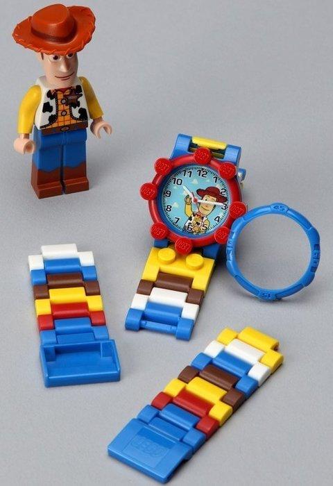 絕版品現貨【LEGO 樂高】益智玩具積木/ 玩具總動員 Toy Story 伍迪 Woody 人偶手錶 公仔 盒損