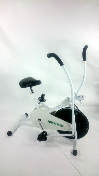 BROTHER 兄弟牌可調速風扇健身車~手腳同時運動,全身性運動腳踏車使用輕便極易上手... 台灣製造品質保證!