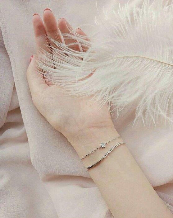 【dear8110下標♥】純銀手鍊 轉運 姻緣紅繩手鍊 鑽石手鍊 K金手鍊 明星同款 一路向北 訂製