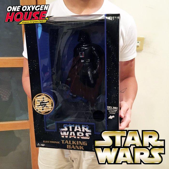 美國 Star Wars 星際大戰 黑武士 發聲 存錢筒 公仔 玩具 擺件 錢罐 撲滿 超大 盒裝 音樂