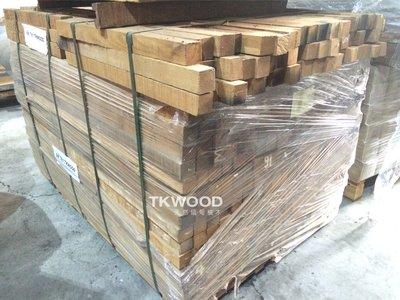 【緬甸柚木毛料-TKWOOD】緬甸柚木毛料✶Teak ✶-厚2英吋*寬2英吋角料 角材  木條 木材 木工 家具 桌腳