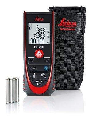 TECPEL 泰菱》Leica DISTO NEW D2 100米 公司貨 含稅 萊卡 徠卡 測距儀