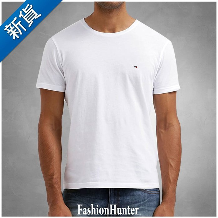 新貨【FH.cc】Tommy 素t 短袖T恤 男童款 白 刺繡Logo 女生可穿 另有 Timberland A&F