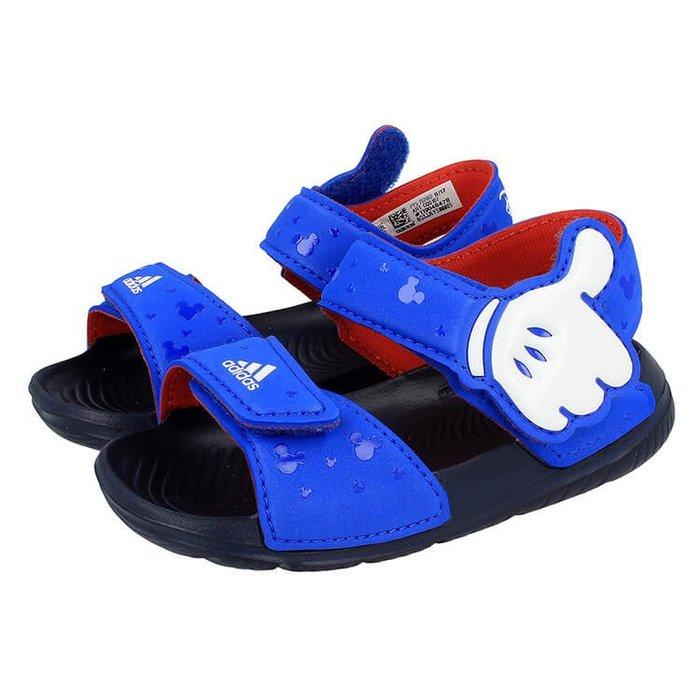 奇星 ADIDAS DISNEY 迪士尼 米奇 兒童 涼鞋 CQ0107