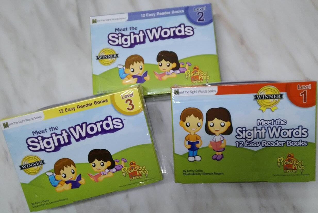 Meet the Sight Words - Level 1+2+3 (正版)
