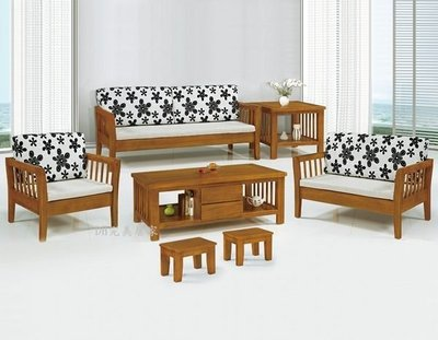 【DH】貨號KH9-1南洋檜木組椅《台製》大自然原木。˙簡雅設計 ˙主要地區免運