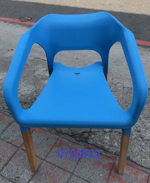 【吉旺二手家具生活館】零碼/庫存 藍色扶手餐椅 辦公椅 電腦椅 吧台椅 洽談椅 休閒椅-各式新舊/二手家具 生活家電買賣
