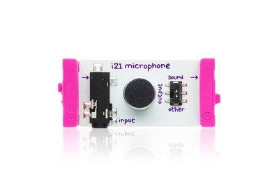美國 littleBits 零件 (input): microphone (8折出清)