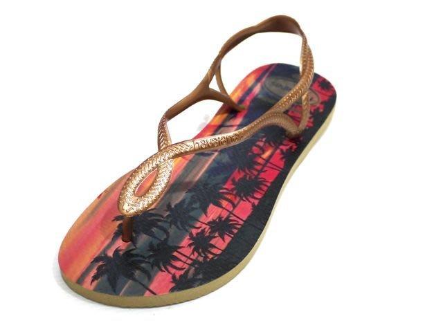 [Ralvi]全新超值Havaianas(哈瓦仕)LUNA PRINT 涼鞋系列 巴西夾腳拖/人字拖/拖鞋(女款)