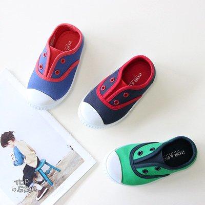 【Kathie Shop】新款男童帆布...