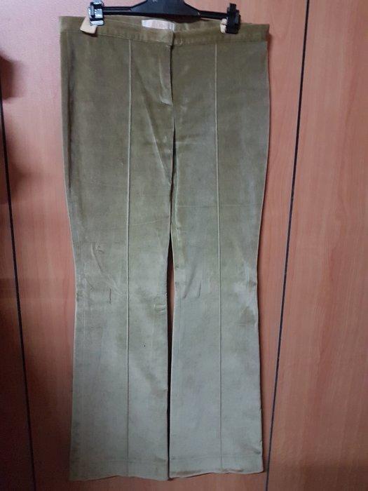 CHLOE 橄欖綠細絨休閒褲