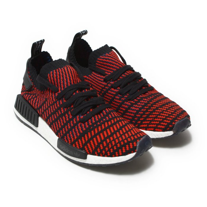 =CodE= ADIDAS ORIGINALS NMD R1 STLT PK 雪花編織襪套慢跑鞋(紅黑)CQ2385預購