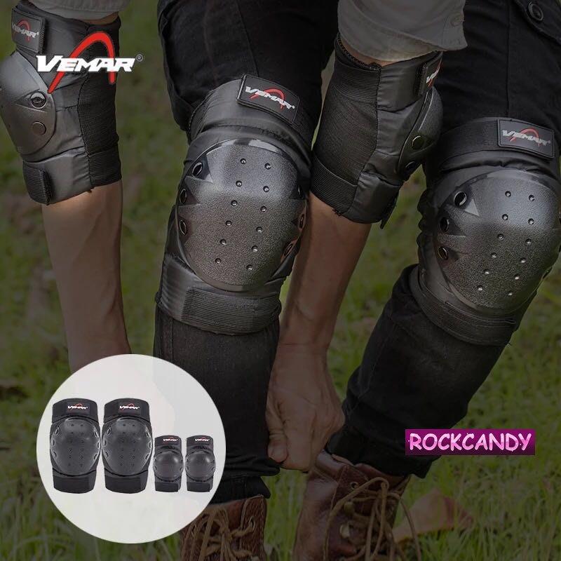 夏季護膝 護肘4件套 防護摩托車騎士短護具 機車 重機 腳踏車護具 極限運動 單車 溜冰護具 跑步運動特技表演護具