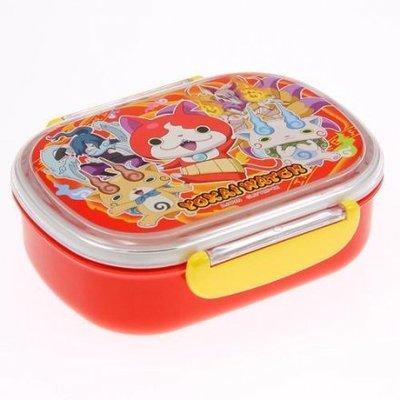 優日購 出清。妖怪手錶 幼童 360ml 便當盒 餐盒 附內層 可微波材質
