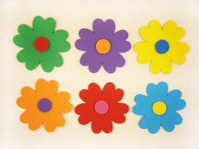 10611【泡绵图案片专区】≡大花系列≡◎10公分心型花瓣10朵◎布置必购款#107