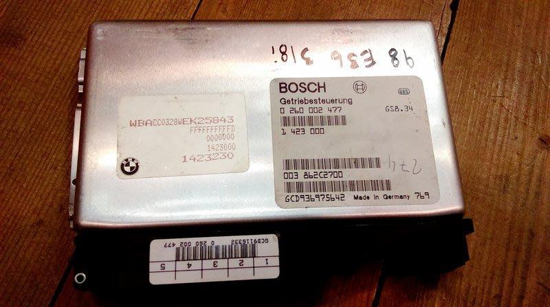 BMW E36 E39 328I 528I 原廠BOSCH變速箱電腦EGS料號0 260 002 477