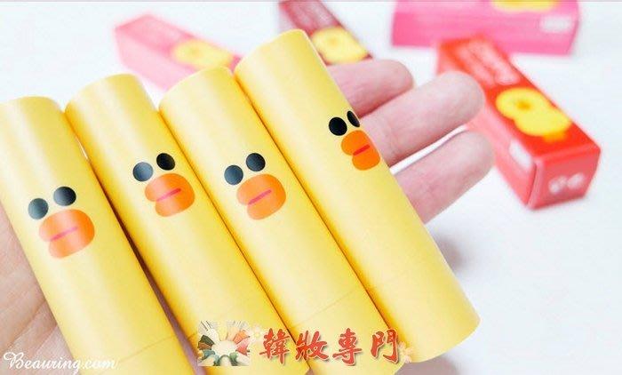 【韓妝專門】MISSHA x LINE 莎莉潤色保濕護唇膏 320【 】NEW