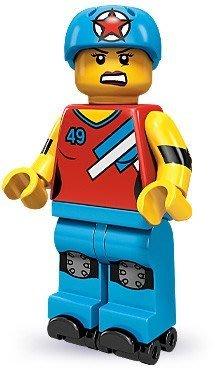 現貨【LEGO 樂高】積木/ Minifigures人偶系列: 9代人偶包抽抽樂 71000   # 8 溜冰女孩