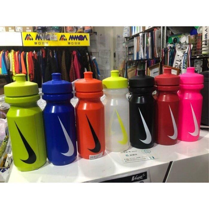 ◇ 羽球世家◇【慢跑水壺】Nike 大嘴巴 運動水壺 多款顏色 耐40度以下 環保無毒材質(多種顏色)