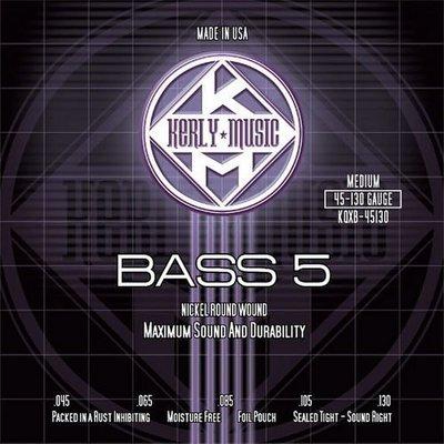☆ 唐尼樂器︵☆ Kerly Strings 冰火弦 KQXB-45130 (45-130) 美製 Bass 電貝斯弦(5弦/五弦用)