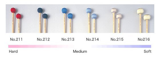 【六絃樂器】全新日本 Saito NO.211 馬林巴琴 木琴 電鐵琴 鐘琴琴槌 / 現貨特價