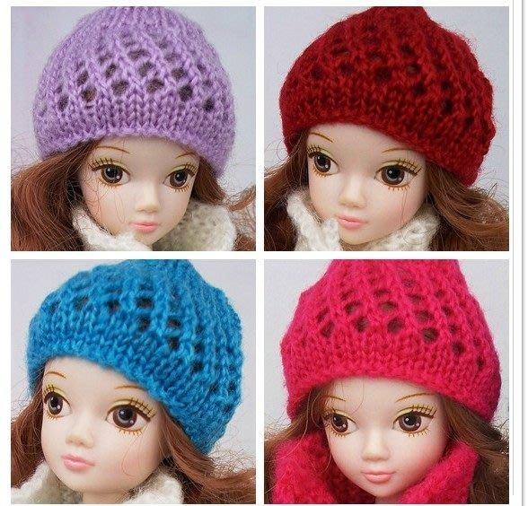 愛卡的玩具屋 可兒娃娃芭比娃娃衣服裝小布珍妮桃子衣服毛線帽子 多色可挑