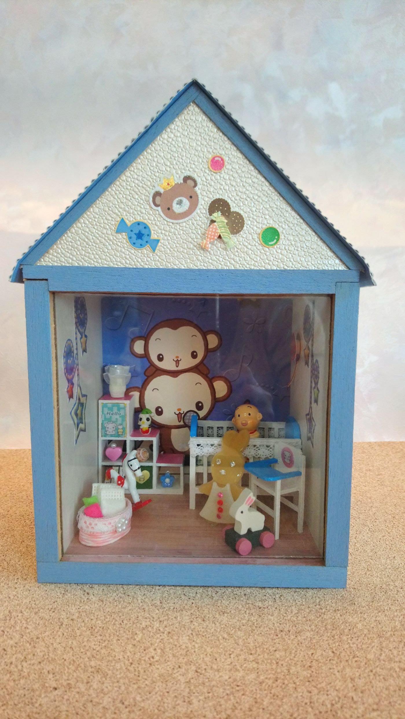 藝手屋~diy小屋.袖珍屋.模型屋.娃娃屋—baby房.成品屋