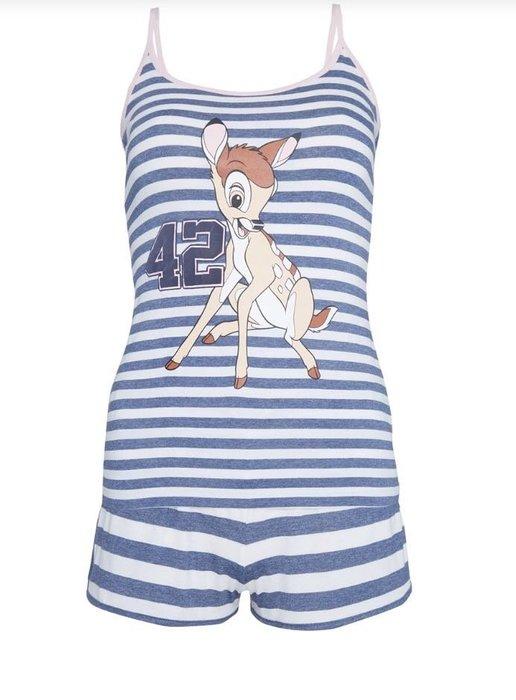 *小熊愛敗家*英國帶回  primark 迪士尼 小鹿斑比 聯名款 居家服 睡衣組 Disney  Bambi Cami