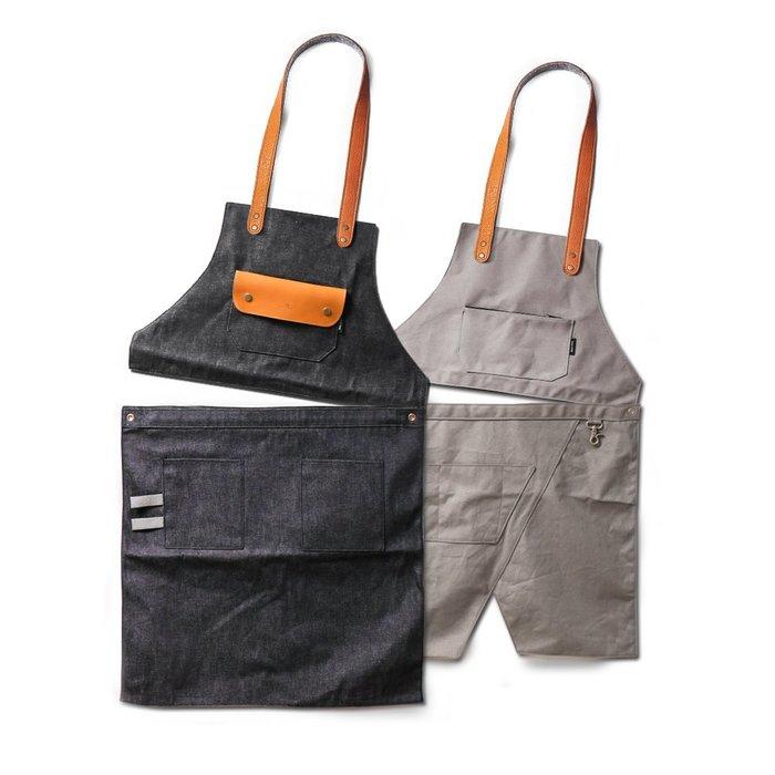 點子包【icleaXbag】二代變形工作圍裙好朋友2件團購組合 DG01-T01