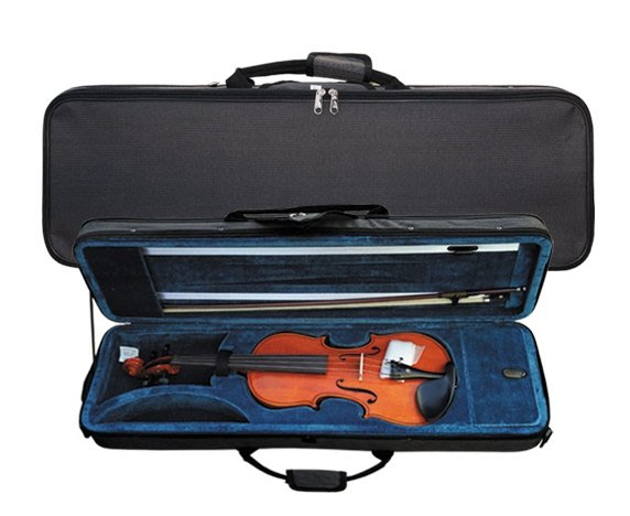 【華邑樂器10082-1】小提琴琴盒-方盒 4/4小提琴適用 B款