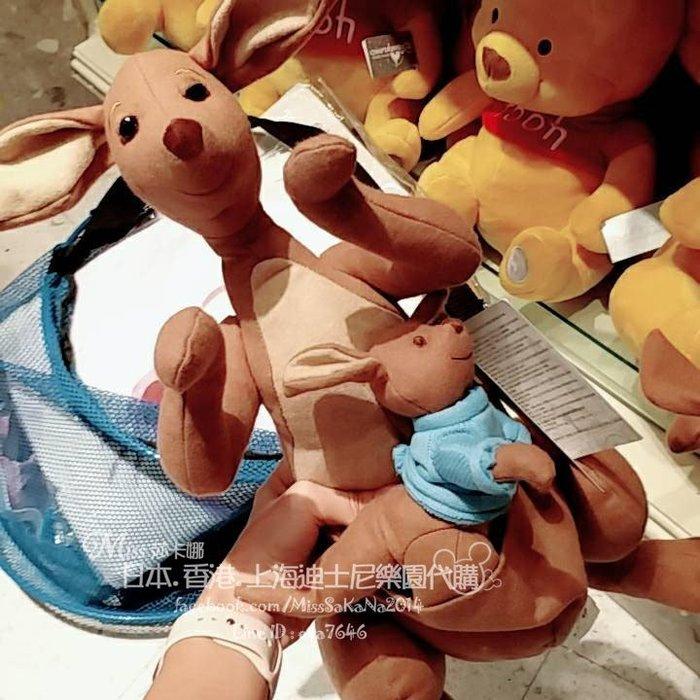 Miss莎卡娜代購【香港迪士尼樂園】﹝預購﹞小熊維尼電影版 摯友維尼 維尼熊好朋友 袋鼠媽媽 小袋鼠荳荳 絨毛娃娃玩偶