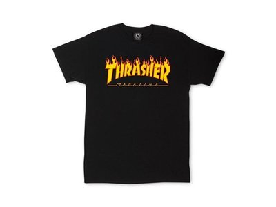 【HOPES】THRASHER FLAME-BLACK