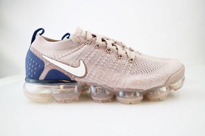 玉米潮流本舖 NIKE AIR VAPORMAX FLYKNIT 2 942842-201 淺褐藍 編織 氣墊 慢跑鞋