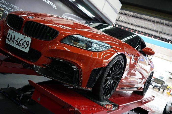 BMW Z4 專用 BREMBO ZL1 6POT 六活塞卡鉗組 對應355/380mm 後客製雙片加大碟組 / 制動改