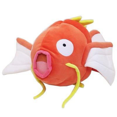 尼德斯Nydus 日本正版 神奇寶貝 寶可夢 Pokemon 超大 鯉魚王 50cm 娃娃 抱枕 玩偶