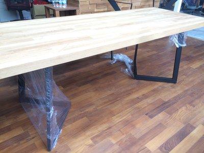 【緬甸柚木-TKWOOD】客製化鐵腳/桌腳/椅腳- ㄑ造型