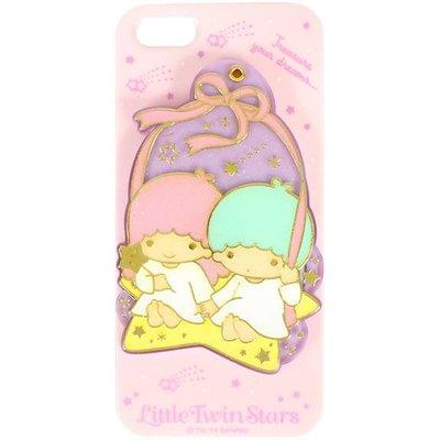 尼德斯Nydus~* 日本正版 三麗鷗 KikiLala 雙子星 雙星仙子 側開式 附小鏡子 手機殼 iPhone5 5S