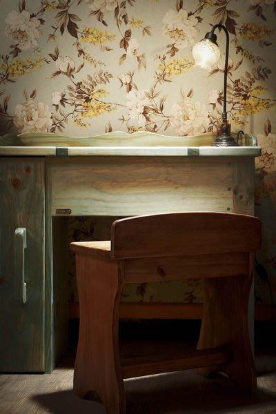 原木工坊~ 原木裝潢  空間設計規劃  歐風掀蓋式梳妝桌