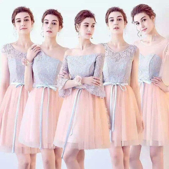 天使佳人婚紗禮服旗袍~~~~~~~~~~~~~ 蕾絲多款伴娘團小禮服