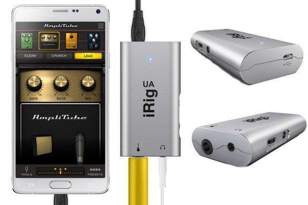 ☆ 唐尼樂器︵☆ IK iRig UA - 民謠吉他電吉他/貝斯 Android 專用數位效果器/數位音效介面/錄音介面
