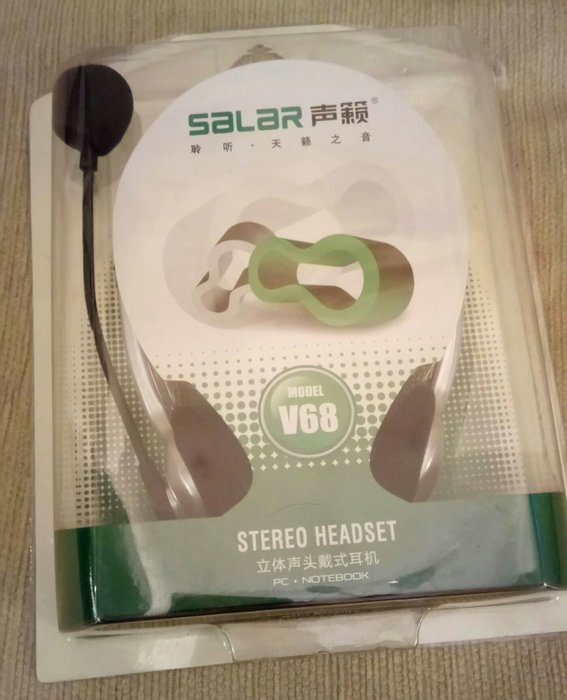 SALAR生籟V68立體聲頭帶式耳機~ ~