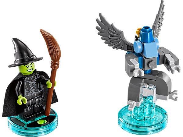【LEGO 樂高 】100% 全新美國正品 益智玩具 積木/ WIZARD三合一次元系列 巫婆 Witch 71221