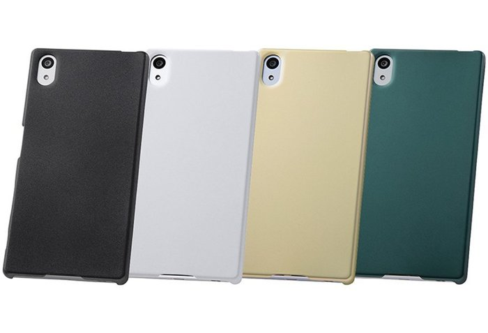 尼德斯Nydus~* 日本正版 Sony Xperia Z5 手機殼 保護殼 硬殼 背面強化硬度2H -共4色