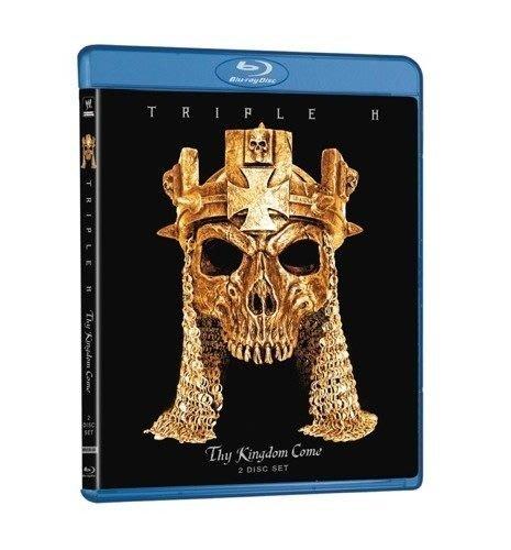 ☆阿Su倉庫☆WWE摔角 Triple H: Thy Kingdom Come Blu-ray HHH王者降臨最新專輯藍光版 熱賣特價中