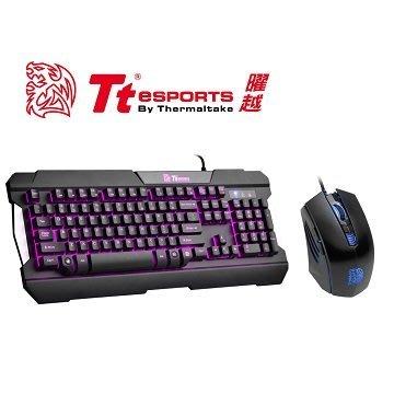 【捷修電腦。士林】 Tt eSPORTS 軍令官 三色電競鍵盤&滑鼠組(KB-CCM-PLBLTC-01  $ 1590
