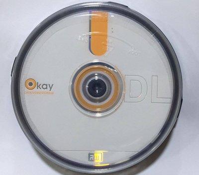 ...點子電腦-北投....散裝◎ DVD+R DL 8X單面雙層空白光碟片◎8.5GB,1片18元