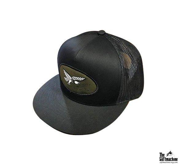 GOODFORIT / 日本Softmachine EAGLE Cap老鷹主題貼布帽款