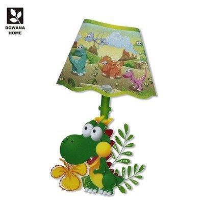 【精選小物】可愛恐龍壁貼燈 CDL09【多瓦娜】