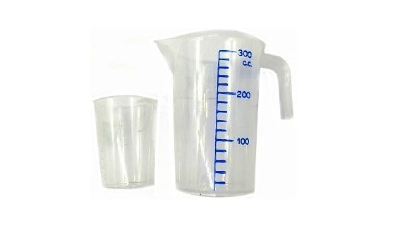 塑膠透明量杯【5A01】